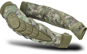 Eclipse Elbow Pads HD Core HDE Camo