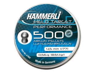 Śrut Hammerli Field Target Performance 4,5 mm 500 szt