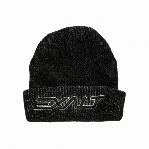 Exalt Bolt Beanie - Black Charcoal