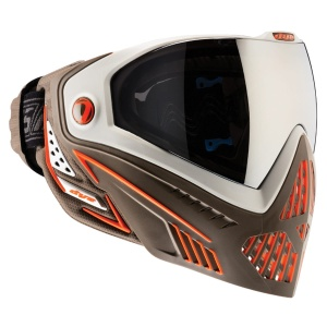 Maska DYE I5 Bucs (lava white/brown/orange)